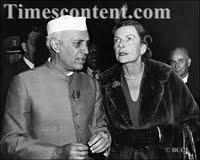 Lady Edwina Mountbatten-Jawaharlal Nehru