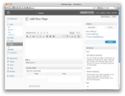 'Add New Page' in WordPress