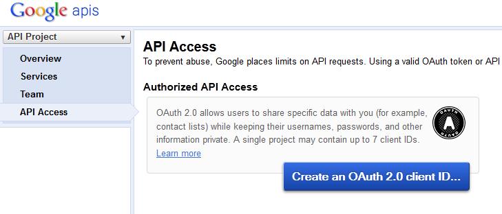 google-drive-api-access